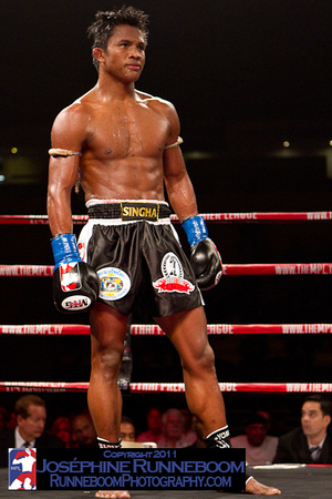 Buakaw in ring