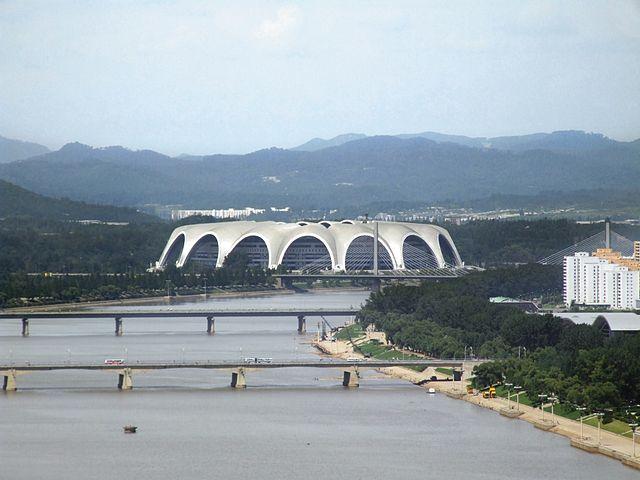 stadium from_Yanggakdo_International_Hotel