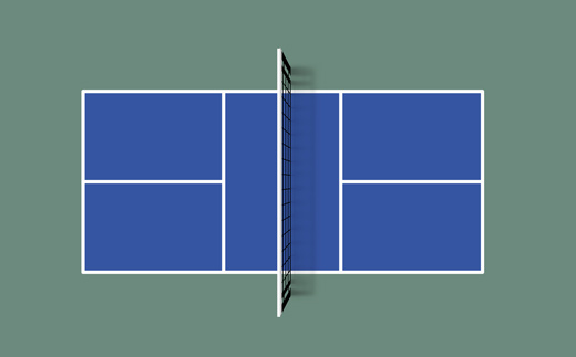 Pickleball field