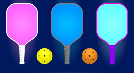 Pickleball paddles